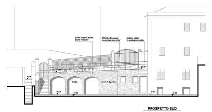 Progetto di ampliamento unità abitativa e spazi esterni